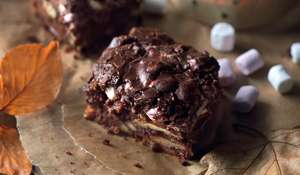 Bonfire Brownies
