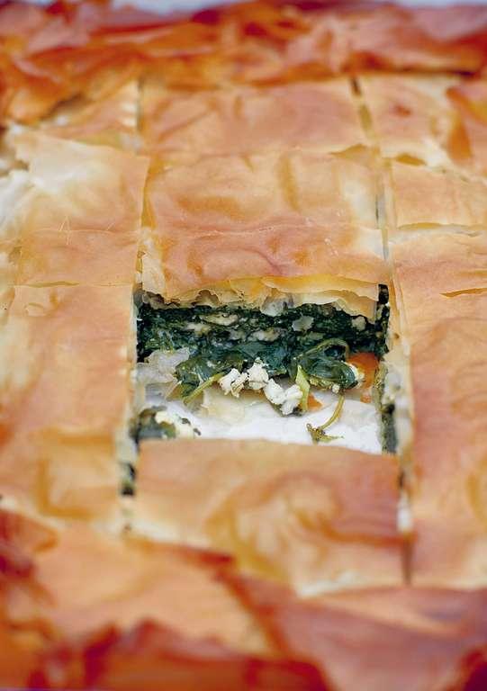 A Very, Very Good Spinach and Feta Pie: Spanakopita