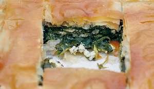 Authentic Greek Cypriot Spanakopita Recipe | Spinach & Feta Pie
