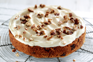 Gluten-Free Spiced Carrot, Parsnip & Orange Cake