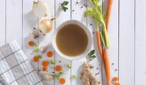 Ginger Beef Bone Broth from Souping