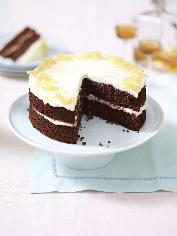 Gorgeous Ginger and Chocolate Cake