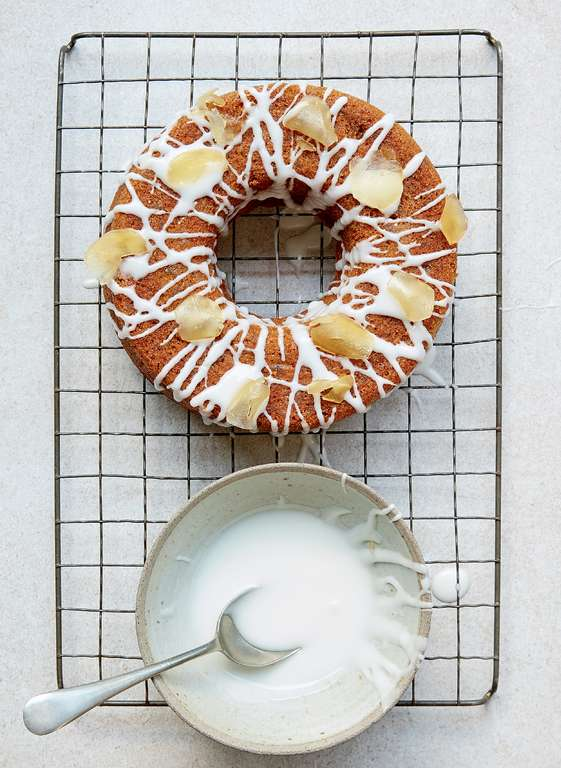 Mary Berry's Ginger Spiced Ring Cake