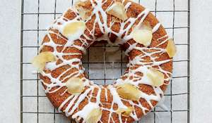 Ginger Spiced Ring Cake