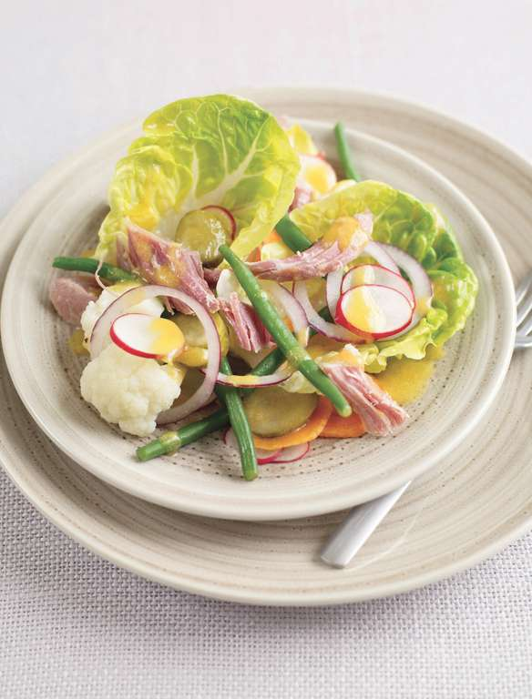 Smoked Ham and Piccalilli Salad
