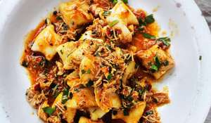 Gnocchi con Granseola (Gnocchi with Crab) from Rick Stein's From Venice to Istanbul