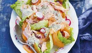 Swedish Salmon Salad with Gravlax Dressing | Rachel Khoo