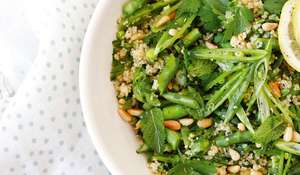 Green Couscous Salad