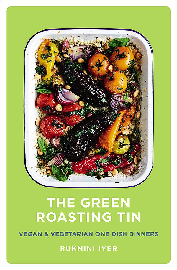 green roasting tin