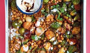 Brussels Sprouts with Tamarind, Peanuts and Shallots