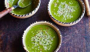 Kale Soup from Eat Beautiful by Wendy Rowe