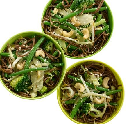 Green Bean Stir Fry from Eat your Greens, Reds, Yellows and Purples