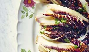 Grilled Radicchio |Agrodolce Italian Vegetable Side Dish