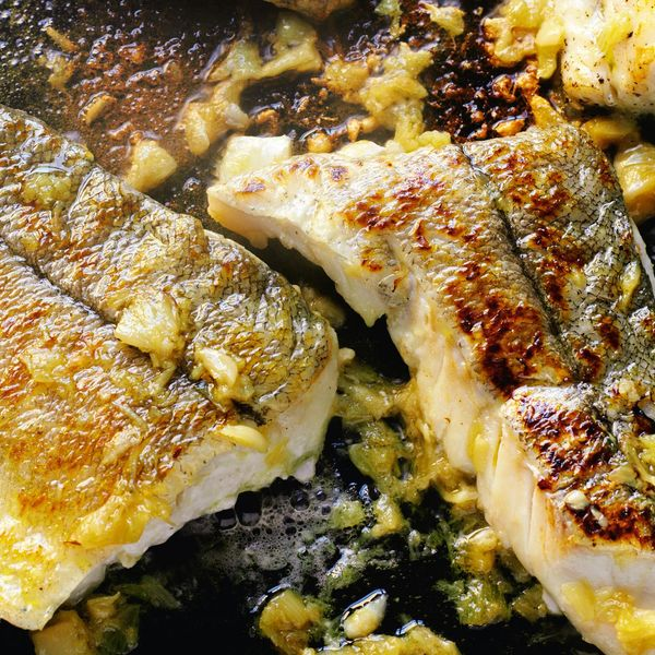 Grilled Haddock with Caramelized Garlic | Rick Stein Fish ...