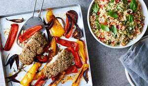 Roasted Haddock with a Herby Crumb Recipe