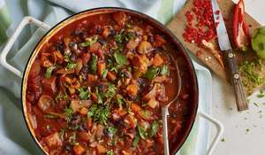 Spiced Ham and Black Bean Stew Recipe   Eat Well For Less BBC 1