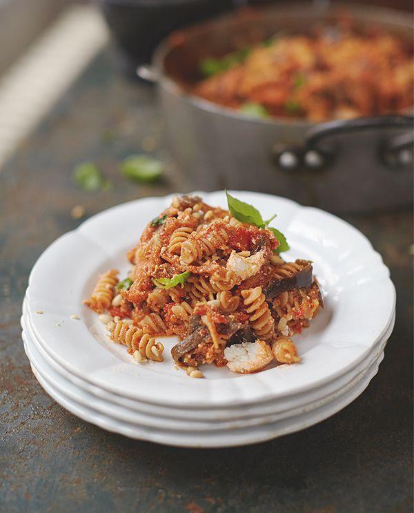 Jamie Oliver happiness pasta