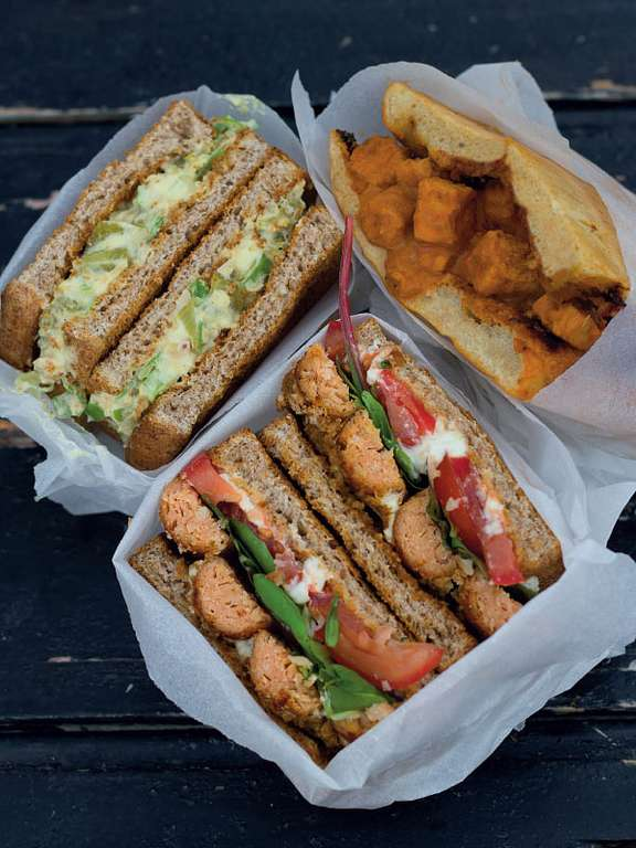 Three Plant-based Back-to-School Sandwiches