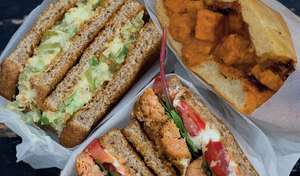 Three Vegan Back-to-School Sandwiches | The Happy Pear