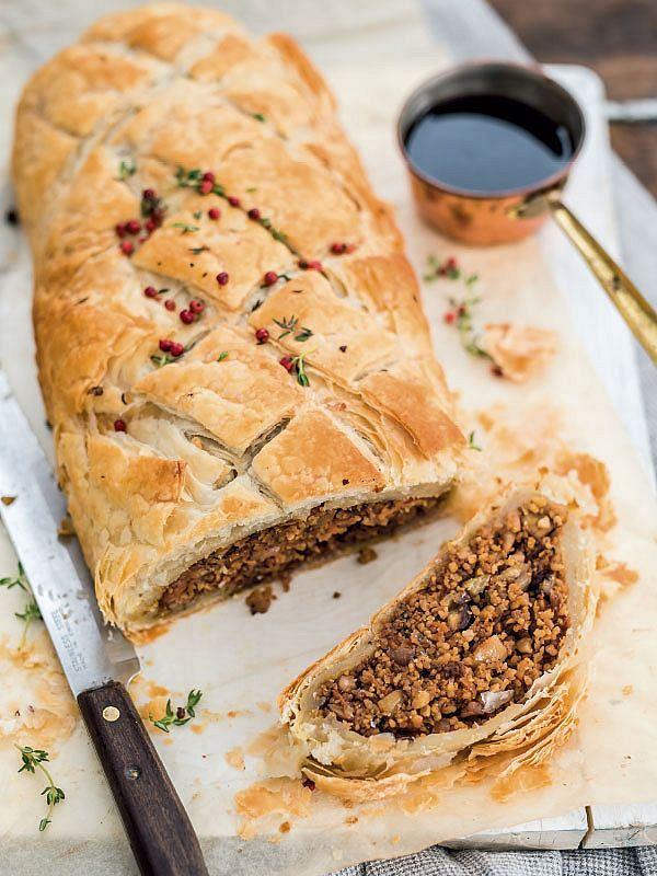 Vegan Roast Recipes Happy Pear Chestnut Cashew Wellington