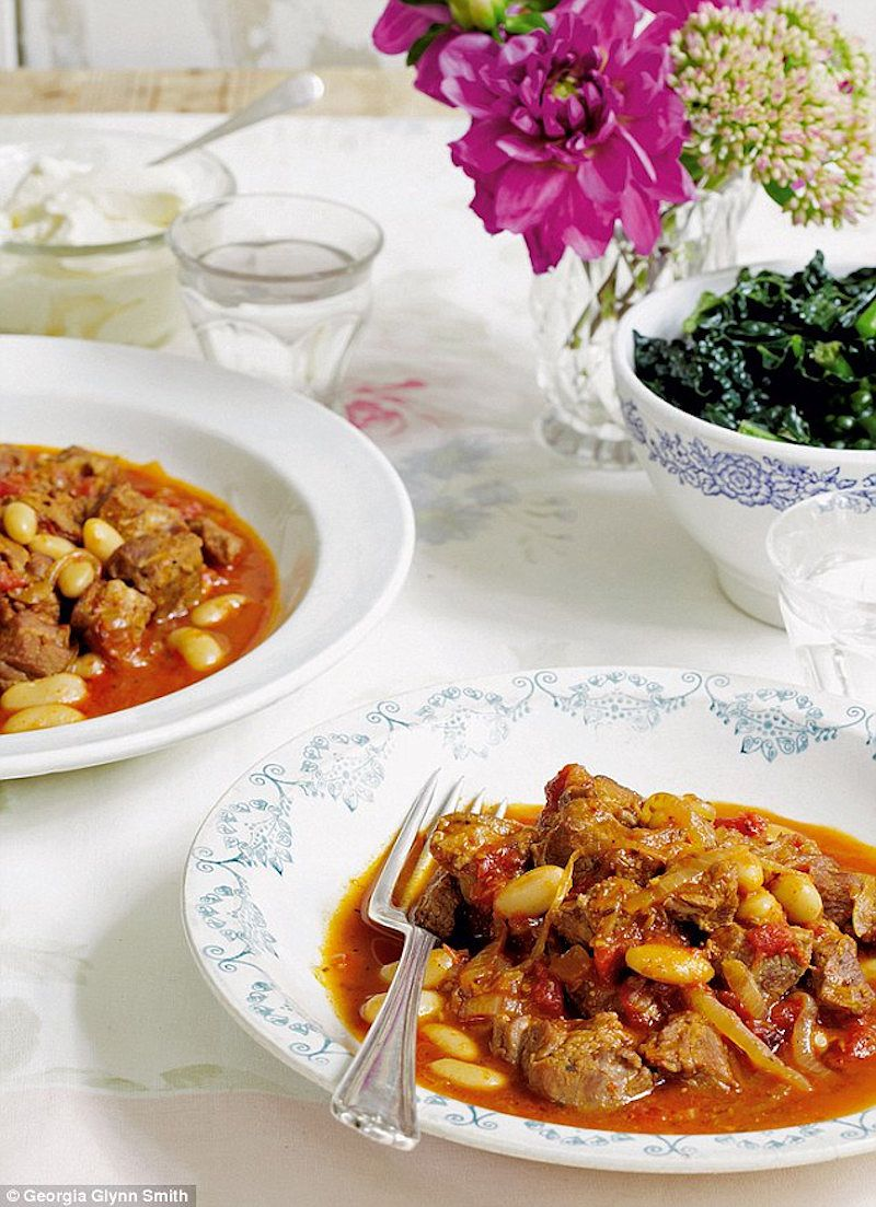 best mary berry winter recipes harissa spiced lamb with cannellini beans mary berrys absolute favourites
