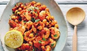 Spicy Harissa Prawn and Chickpea Curry Recipe