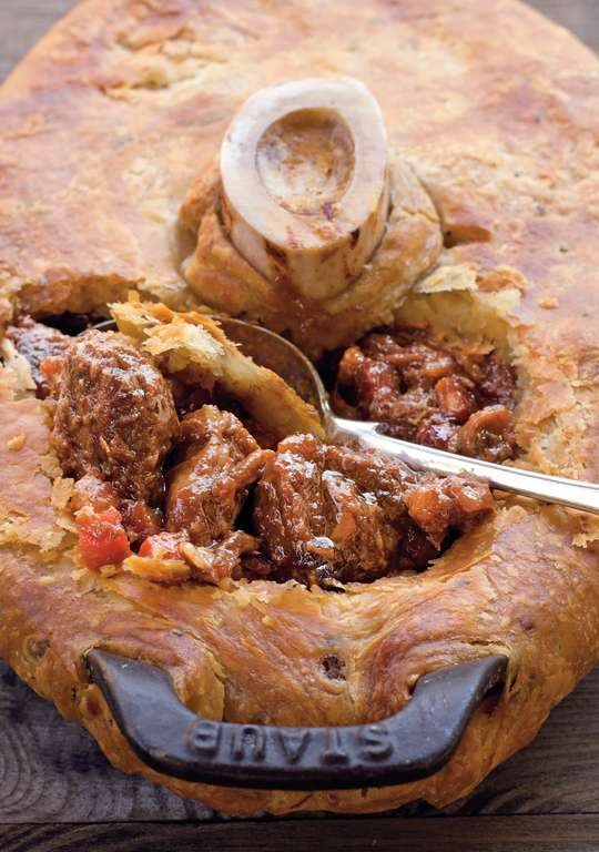 Cheek and Tail Pie