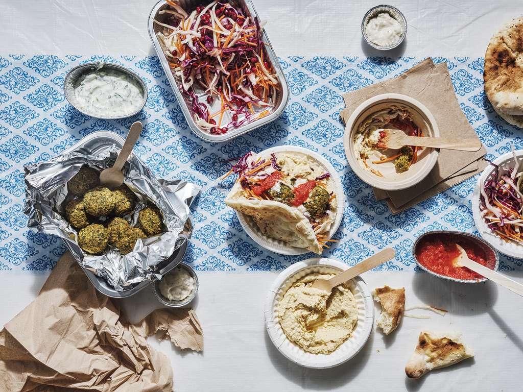 Chris Bavin's Healthier Falafel Feast