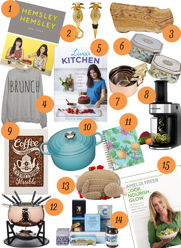 Healthy Foodie Gift Guide 2016