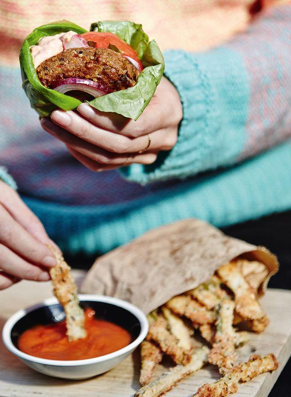 Best Vegetarian & Vegan Burger Recipes   Creative, Meat-Free Patties - Melissa Hemsley