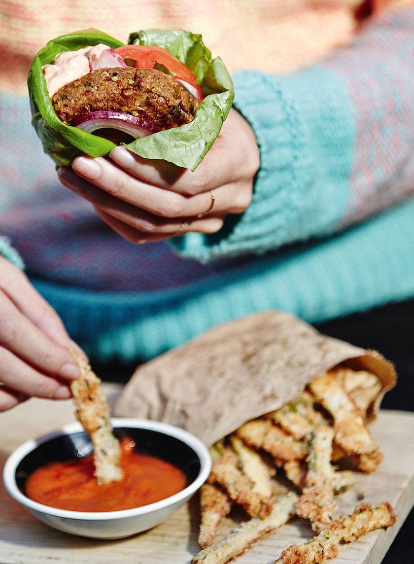 Best Vegetarian & Vegan Burger Recipes | Creative, Meat-Free Patties - Melissa Hemsley