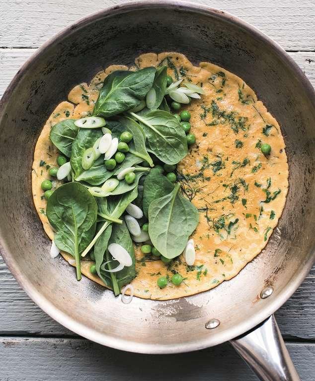 Herby Green Omelette
