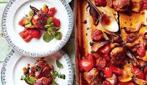 Jamie Oliver's Hit and Run Traybaked Chicken