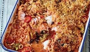 Nadiya Hussain's Hoop Fish Bake Recipe | BBC Time To Eat