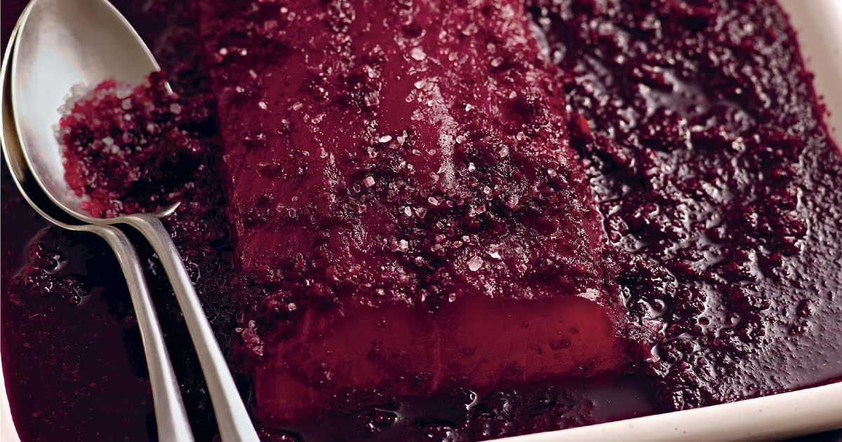 Beetroot Cured Salmon Gravadlax Recipe Turkey