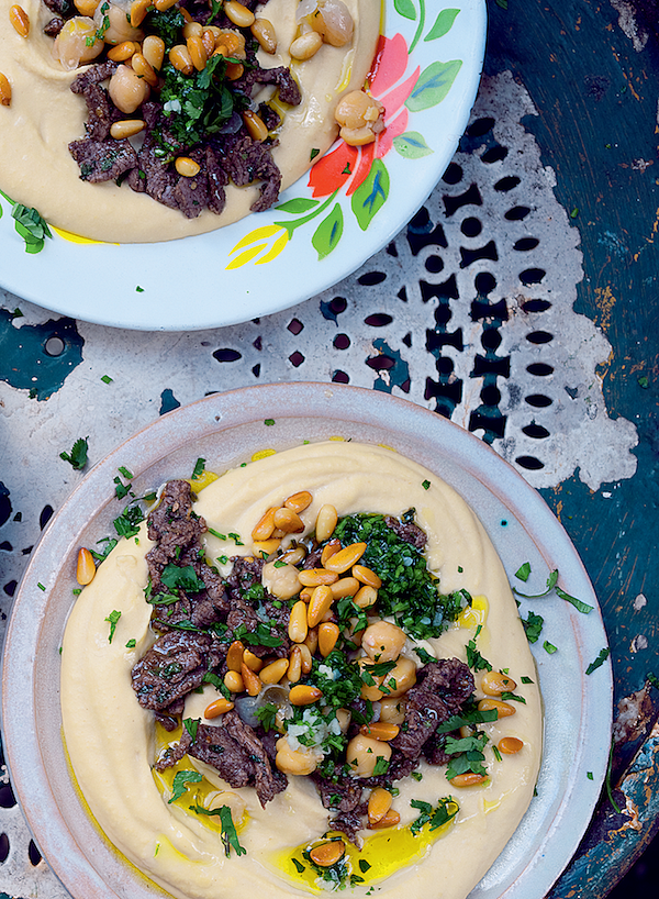 how to make ottolenghi smooth hummus
