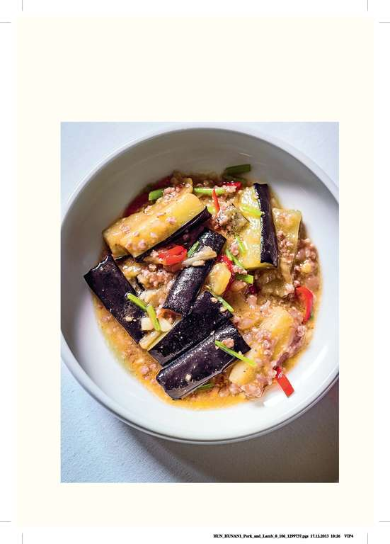 Pork Mince and Aubergine Stir-fry