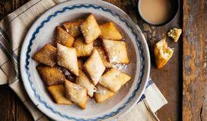 East African Fried Coconut Breads | Traditional Mandazi
