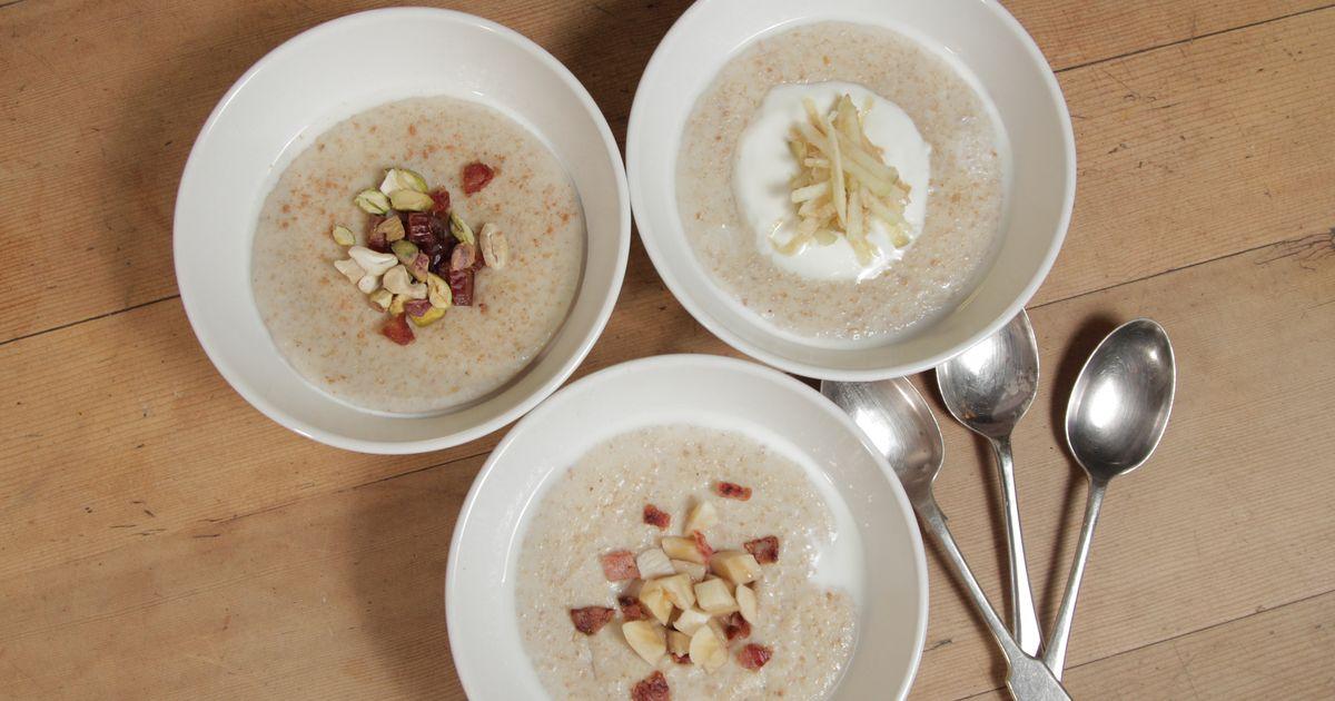 Porridge The Happy Foodie