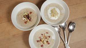 The perfect porridge recipe by Felicity Cloake with three topping suggestions