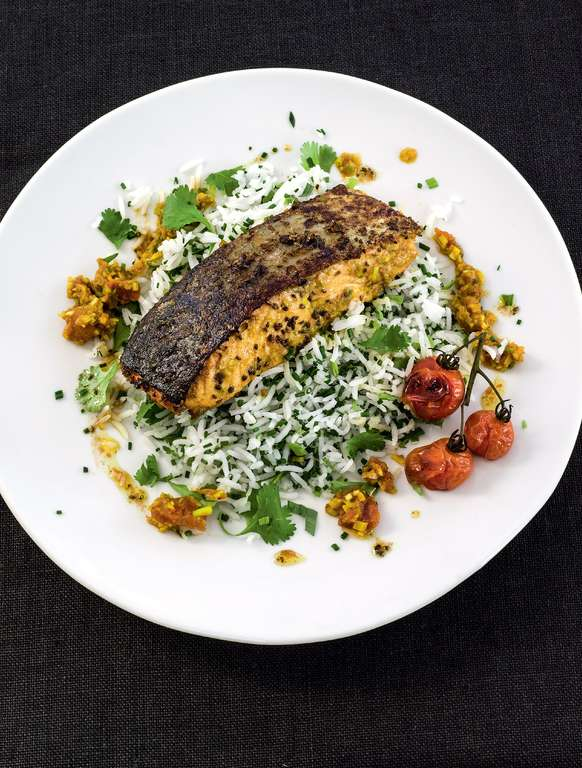 Tony's Punjabi Spiced Salmon