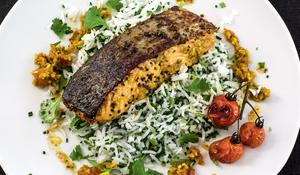 Punjabi Spiced Salmon