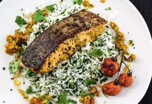 Punjabi Spiced Salmon
