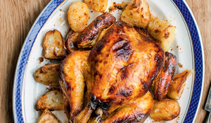 Honey-roasted Chicken with Outstanding Roasties
