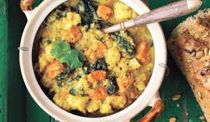 Indian Lentil-Cauliflower Soup