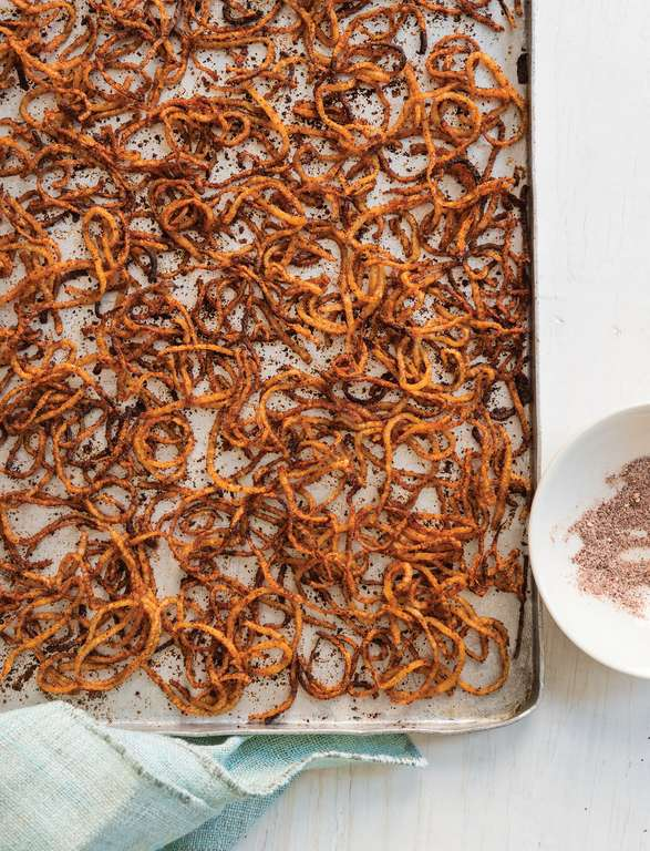Spicy Sweet Potato Strings