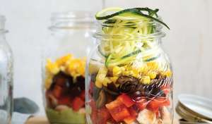 Avocado-Lime Mason Jar Salad