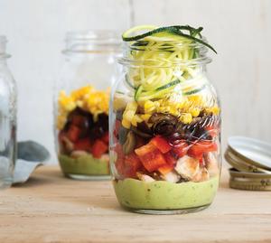 Avocado-Lime Mason Jar Salad