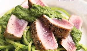 Seared Tuna with Chimichurri