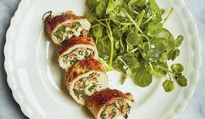 Roasted Pork Involtini with Prosciutto and Garlic recipe